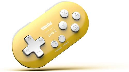 8bitDo Manette Bluetooth Zero 2 - Yellow Edition