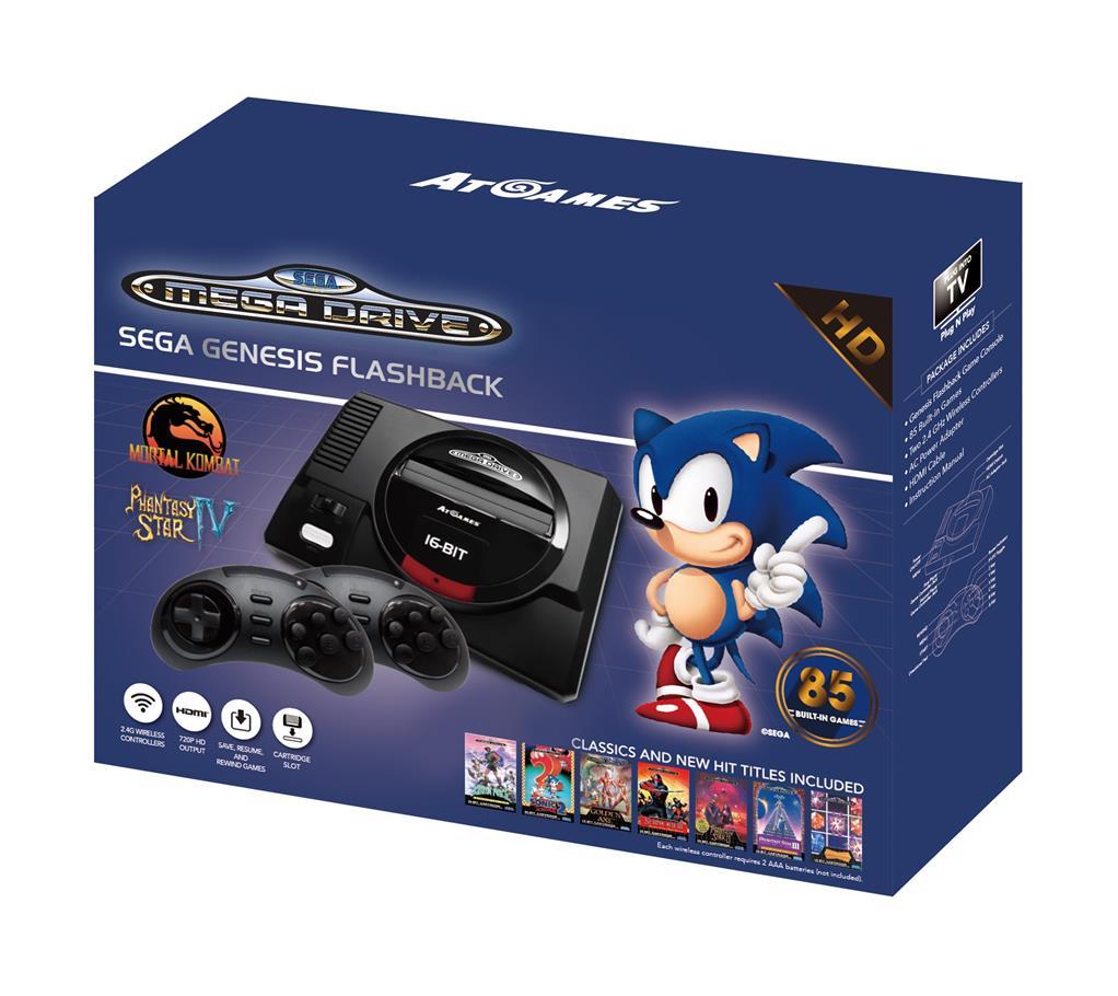 Sega Mega Drive Mini HD - Le must du Retrogaming chez Just ...