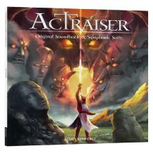 Actraiser: Original Soundtrack And Symphonic Suite Edition Spéciale Vinyle Bleu 2LP