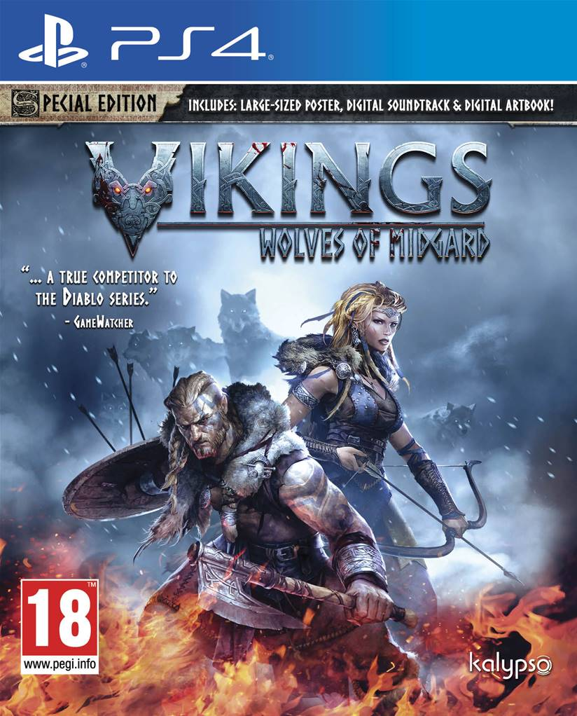 vikings wolves of midgard jeu sur ps4 just for games. Black Bedroom Furniture Sets. Home Design Ideas