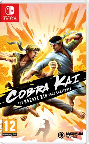 Cobrai Kai: The Karate Kid Saga Continues Switch