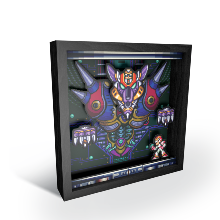 Pixel Frames MEGA MAN BOSS FIGHT - Taille L 23x23cm