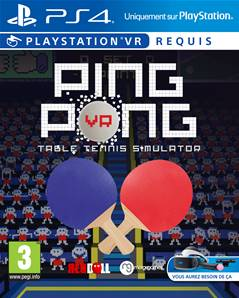 Ping Pong Table Tennis Simulator - PS4 VR