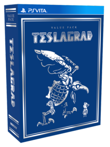 Collector Teslagrad PS Vita