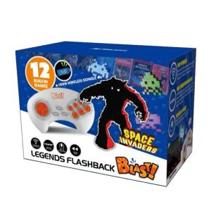 Console Retro - Space Invaders Flashback Blast! - 12 Jeux - Edition 2018-2019