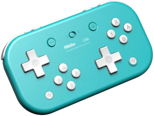 8BitDo Lite Turquoise Manette Bluetooth pour Switch Lite, Switch et Windows