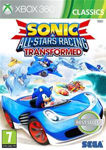 Sonic & All Stars Racing Transformed - Xbox 360