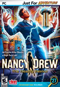 Nancy Drew The Deadly Device PC