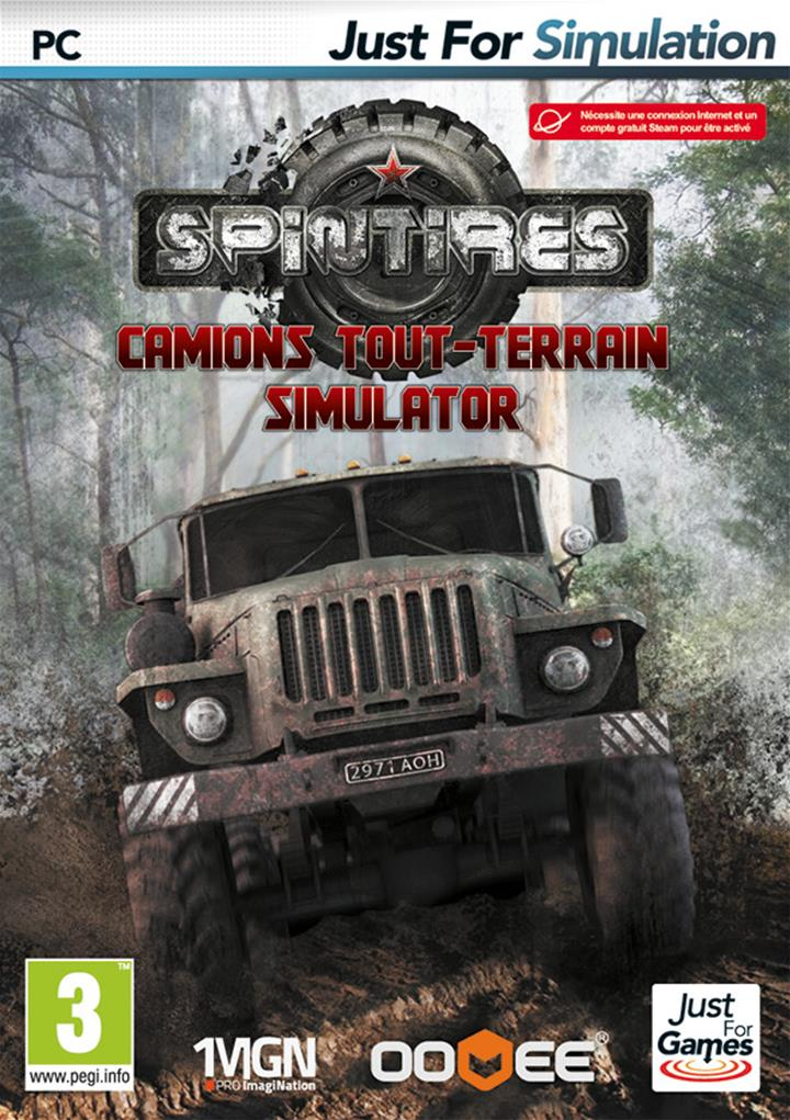 spintires camions tout terrain simulator jeu pc de simulation just for games. Black Bedroom Furniture Sets. Home Design Ideas