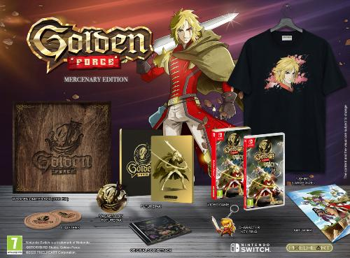 Golden Force Mercenary Edition Collector Switch