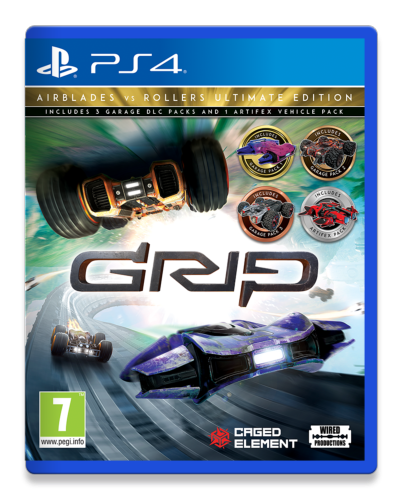 GRIP Combat Racing Rollers vs AirBlades Ultimate Edition PS4