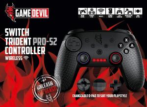 GameDevil Switch PRO-S2 Wireless Controler