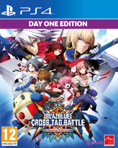 BlazBlue Cross Tag Battle Special edition Day-One edition PS4