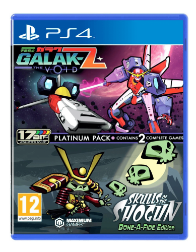 Galak-Z The Void & Skulls of the Shogun Bonafide Edition Platinum Pack PS4