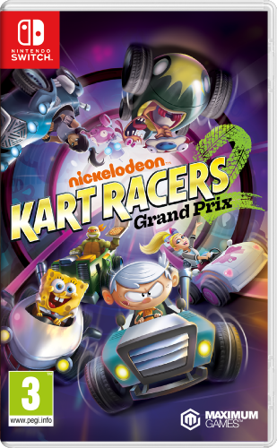 Nickelodeon Kart Racers 2 Grand Prix Switch