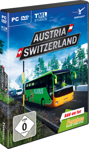 Fernbus Simulator add-on Suisse/Autriche