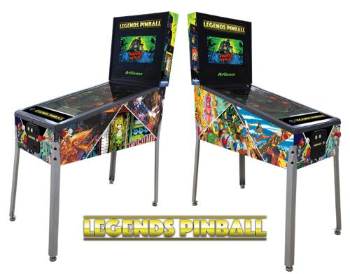 Flipper connecté Legends Pinball AtGames