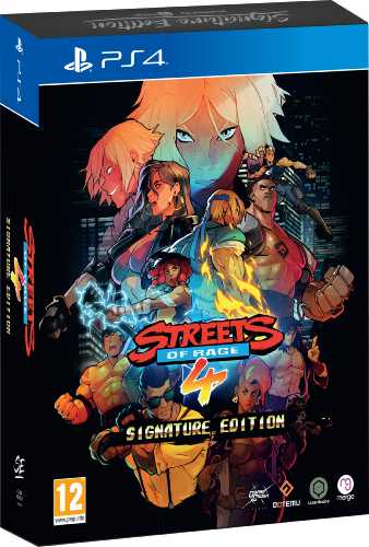 Streets of Rage 4 PS4 Signature Edition
