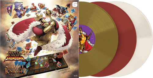 Shovel Knight King of Cards The Definitive Soundtrack 3LP Vinyle