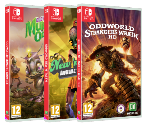 Pack Trilogie Oddworld Bundle Switch