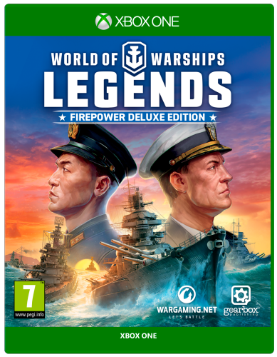 World of Warships: Legends Fire Power Deluxe Edition Xbox One