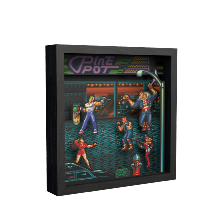 Pixel Frames Streets of Rage - Taille L 23x23cm