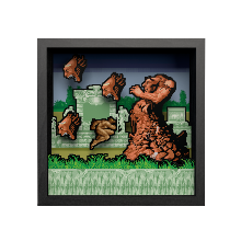 Pixel Frames Altered Beast  - Taille L 23x23cm