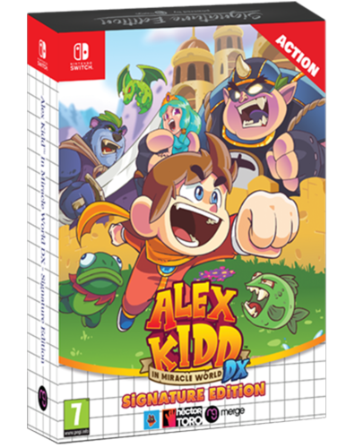 Alex Kidd in Miracle World DX Nintendo Switch Signature Edition