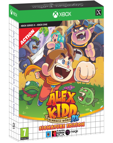 Alex Kidd in Miracle World DX SERIE X / XBOX ONE Signature Edition