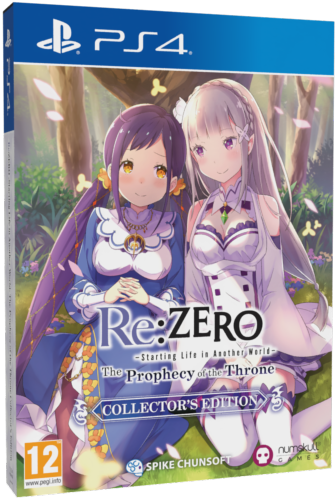 Re:Zero -The Prophecy of the Throne Collector's Edition PS4