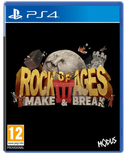 Rock of Ages 3 Make & Break PS4