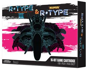 R.Type III & Super R.Type Limited Collector 's edition for SNES Violette