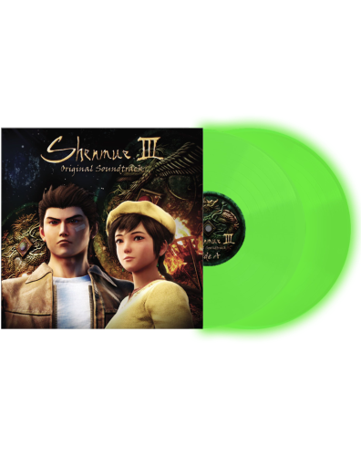 Shenmue III Original Soundtrack Music Selection -Glow in the dark Limited Ed - 2LP