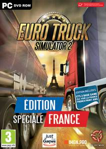 "Pack Euro Truck 2 Simulator + DLC ""Vive la France"" PC"