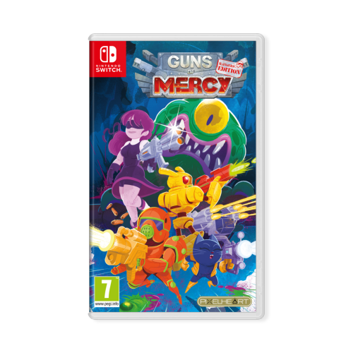 Guns Of Mercy Rangers Edition Switch Just Limited