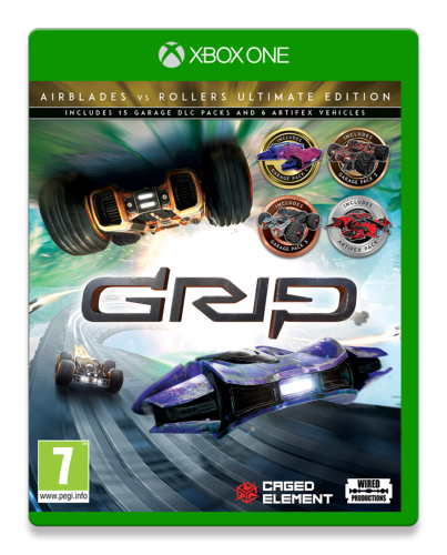 GRIP Combat Racing Rollers vs AirBlades Ultimate Edition Xbox One