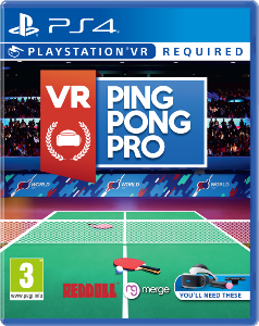 Ping Pong Pro PS4 VR