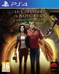 Les chevaliers de Baphomet 5 : La malédiction du serpent - PS4
