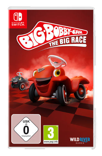 Big Bobby Car The Big Race Switch