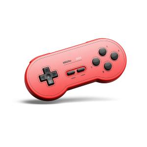 8Bitdo Manette de jeu SN30 GP SNES Edition - rouge