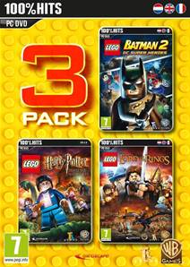 Lego Pack 3 (Batman 2 + Harry Potter 5-7 + Lord of the Rings) PC