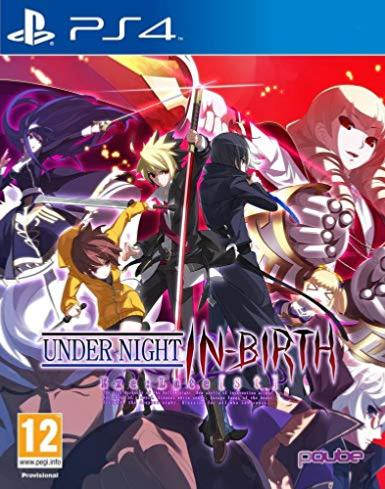 Under Night In-birth Exe Late CL-R PS4