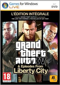 GTA IV : episodes from Liberty City - édition intégrale PC