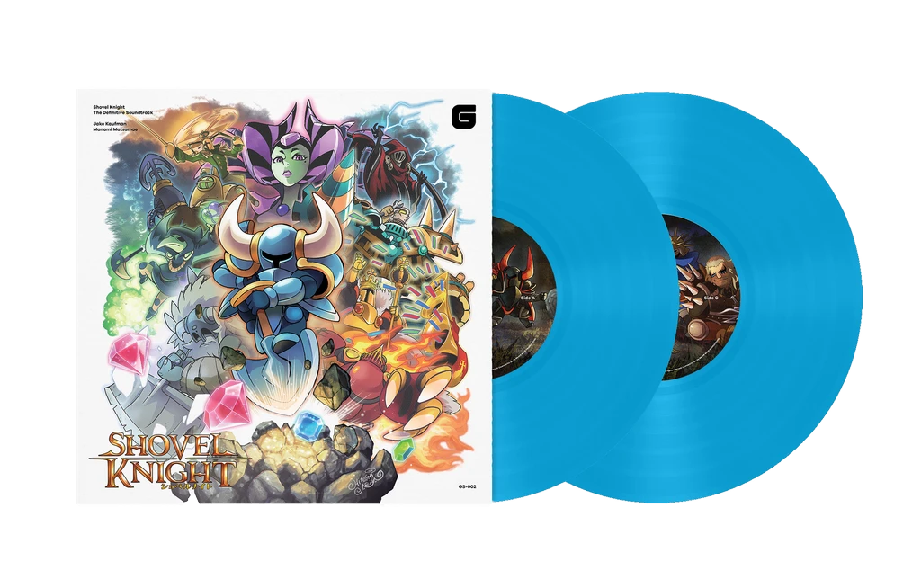 Shovel Knight : The Definitive Soundtrack Vinyle