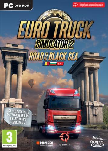 Euro Truck 2 Simulator Road to the Black Sea Add-on PC