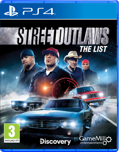 Street Outlaws PS4
