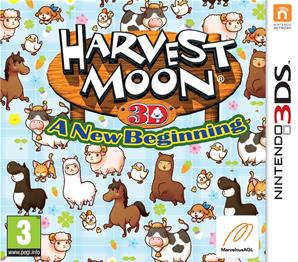 Harvest Moon A New Begining - 3DS