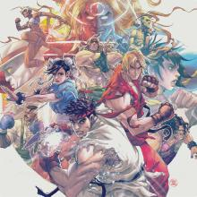 Street Fighter III The Collection 4LP
