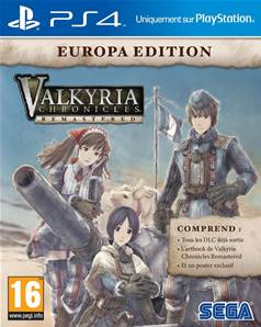 Valkyria Chronicles Europa Edition PS4