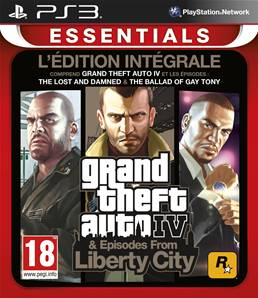 GTA IV COMPLETE Essentials PS3